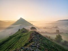 Morning mist (Stephen Elliott Photography) Tags: peakdistrict upper d dove valley autumn dawn sunrise chrome hill parkhouse olympus 714mm kase filters