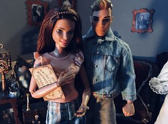 What Could Possibly Go Wrong? (MaxxieJames) Tags: vittoria belmonte bastian hunter mattel doll dolls barbie ken fashion fashionista made move z actress horror movie halloween ouija