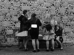 Gathering Storm (Bury Gardener) Tags: streetphotography suffolk streetcandids snaps candid candids people peoplewatching street 2018 nikond7200 nikon england eastanglia burystedmunds bw blackandwhite britain monochrome mono cornhill