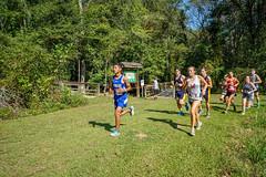 FLO05970 (chap6886@bellsouth.net) Tags: running run race girls boys team trees lake athletes action athletics america xc 5k highmiddleschool highschool