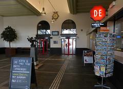 Railway station Vlissingen (joeke pieters) Tags: 1430629 panasonicdmcfz150 vlissingen walcheren zeeland nederland netherlands holland station railwaystation