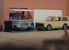 Siku Transit & Range Rover (Lou's diecasts) Tags: siku v264 v334 range rover ford transit modellauto diecast collecting 164