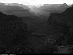 20160825_15 View from Bright Angel Trail in Grand Canyon, Arizona (ratexla) Tags: ratexlasgreentortoisetrip2016 ratexlascanyonsofthewesttrip2016 greentortoise canyonsofthewest 25aug2016 2016 canonpowershotsx50hs brightangeltrail grandcanyon arizona usa theus unitedstates theunitedstates america northamerica nordamerika earth tellus photophotospicturepicturesimageimagesfotofotonbildbilder wanderlust travel travelling traveling journey vacation holiday semester resaresor roadtrip ontheroad sommar summer beautiful nature landscape scenery scenic desert sandstone hiking hike mountain mountains berg blackandwhite blackwhite bw monochrome svartvit svartvita svartvitt