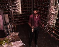 DiMaggio (P r i m i t i v) Tags: elysion wine sl secondlife fancy deadwool gentleman lights bright scenery drinking