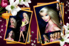 Southern Girl Barbie Doll (marieschubert1) Tags: frame barbie doll mattel model southern girl fashion