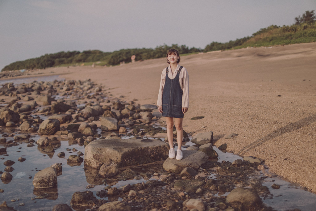 外拍寫真,地點,淡水海岸,外拍