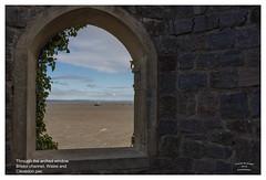 Through the arched window (Trevor Watts Photography) Tags: northsomerset gb uk england southwestengland thesouthwest clevedon bristolchannel coast seaside nikon d7200 dx crop sigma 1750f28 © trevorwatts october autumn
