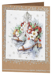 Craft Creations - Shelley175 (Craft Creations Ltd) Tags: iceskating iceskates greetingcard craftcreations handmade cardmaking cards craft papercraft christmas