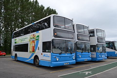 Translink Ulsterbus 2981 EEZ2981 - 2931 HCZ9931 - 2980 EEZ2980 (Will Swain) Tags: coleraine 13th june 2018 translink bus buses transport travel uk britain vehicle vehicles county country ireland irish city centre north northern williamsdigitalcamerapics101 ulsterbus 2981 eez2981 2931 hcz9931 2980 eez2980 eez hcz 9931