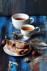 Cake all'uva (Giovanna-la cuoca eclettica) Tags: cake stilllife food dolci frutta season stagioni autumn lautunno cup tea teacup