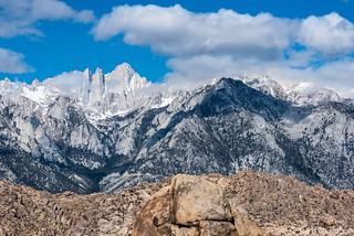 Alabama Hill and Mt. Whitney