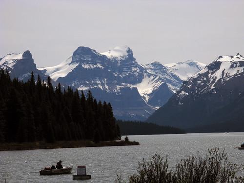 Jasper NP, Maligne Lake, Queen Elizabeth Ranges