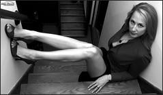 Christine 6778 (newspaper_guy Mike Orazzi) Tags: christine model modeling blonde d300 woman girl alienbees cybersync redtop blouse burlington ct usa sexy longlegs strobist 18200mmf3556gvr portrait portraiture connecticutportraits legs red flashphotography