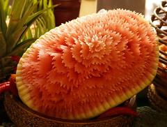 Carved Watermelon, Westin Hotel, Doha (ajax_pc) Tags: carved doha watermelon westin