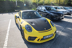 Weissach Package (Nico K. Photography) Tags: porsche 991 gt3 rs mkii weissach package yellow supercars nicokphotography switzerland maienfeld