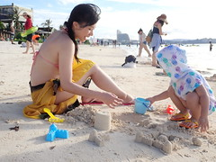 Just another beach day (imnOthere0) Tags: guam beach portrait parent kid children