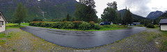 Hjelledalen - Norway (Melvin Debono) Tags: hjelledalen norway melvin debono greenery small house houses tree trees nature grov sogn og fjordane panorama pano nygard camping