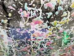 Car wash foam treatment (SchuminWeb) Tags: schuminweb ben schumin web july 2018 virginia va winchester frederick county sheetz car wash washing washes carwash carwashes trifoam tri foam triple foams pink blue green yellow orange cleaning clean cleaned convenience store gas station stations retail retailing retailer retailers stores