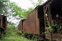 I_B_IMG_0606 (florian_grupp) Tags: asia myanmar burma train railway railroad yangon rangoon myanmarailways southeast metergauge metregauge 1000mm diesel locomotive scrap yard steam vulcan foundry pyuntaza shed