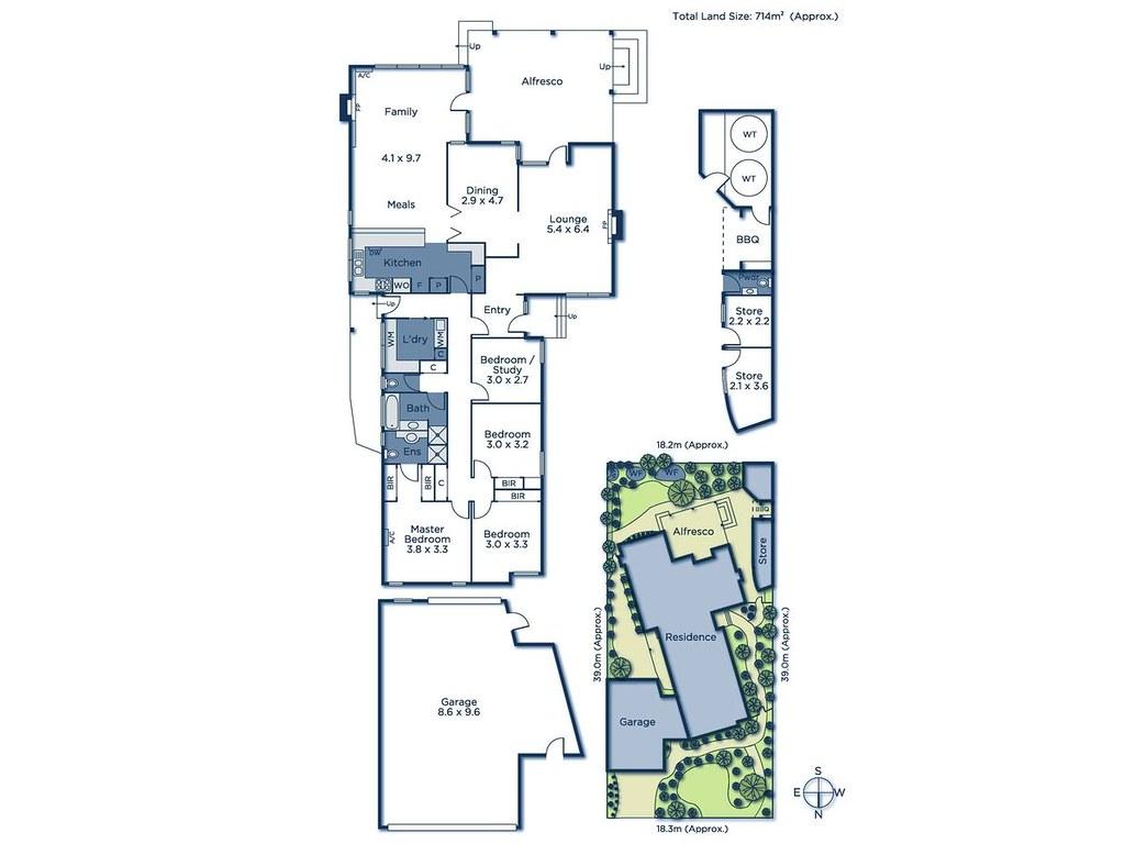 1 Pascall Street floorplan