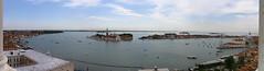 Panorama Venise (Franck.Robinet) Tags: panorama panoramique venise venice venezia venedig veneto city cityscape landscape campanile sea seascape sky overview downtown lagune lagoon
