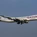 Qatar Cargo Boeing 747-87U A7-BGA