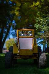 Tractors&Chickens&Fall-13 (sammycj2a) Tags: cubcadet whitecrestedblackpolish chickens snowman ford ford8n northogden gardentractor cubcadet104 redbelly nikon nikonnofilter nikkor chickencoop fallcolors
