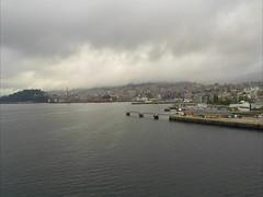 Arriving in Vigo, Spain (TravelsWithDan) Tags: video timelapse carnivalhorizon vigo spain port buses people harbor boats ships ocean atlantic gopromarkivblack candid