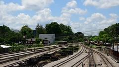 Welcome to Hatyai... (PP_1026(Thx for 15K views!)) Tags: nikon d7500 hatyai songkhla thailand timelapse railway train sky