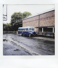 Guy (Charliebubbles) Tags: fujifiminstaxsq6 westmidlands dudley blackcountrylivingmuseum embracethegrey history transport bus guy travel 2018 fujifilm instax square sq