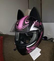 Cat Ear Helmet by Ed (BikerKarl2018) Tags: cat ear helmet by ed badass motorcycle store biker stuff motorcycles