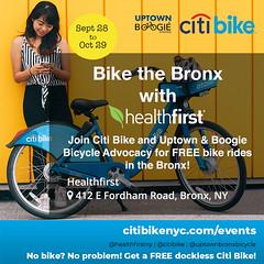 Bronx, New York (Quench Your Eyes) Tags: thebronx bronx healthfirstny citibike uptownbronxbicycle bikeshare citibikes bike bicycle biking socialride bikeride bikeevent citibikeevent citibikeevents groupride groupevent