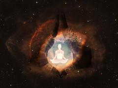 Conexión con el Ser Superior (Luz Adriana Villa A.) Tags: photoshop sersuperior meditacion ojodedios helixnebula nebulosahelix helix eyeofgod canalizacion channeled