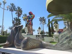 Miles Davis by Niki de Saint-Phalle in Nice (Sokleine) Tags: sculpture statue modern contemporary masterpiece oeuvredart art culture heritage nice 06000 alpesmaritimes paca côtedazur france milesdavis davis trompettiste jazz cool sirène mermaid nikidesaintphalle