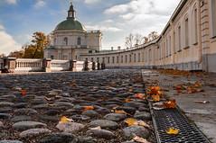 Oranienbaum. Menshikov's palace. (andreivolkov) Tags: russia saint petersburg lomonosov oranienbaum history palace autumn outdoor stone