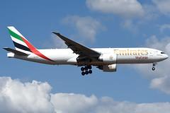 Emirates Sky Cargo | Boeing 777-F1H | A6-EFI | FRA/EDDF | 2018-09-01 | cn 35609 (airbus-a340) Tags: fra eddf rhein main rheinmain international frankfurt germany airport flughafen flugplatz aircraft spotter airfield aviation plane planespotter air sky emirates cargo emiratesskycargo boeing 777f1h boeing777f1h cn35609 a6efi 20180901