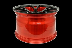 project-6gr-10-ten-gloss-black-red-barrel-08 (PROJECT6GR_WHEELS) Tags: project 6gr 10ten full forged 19x11 rspecs shelby gt350 ford mustang gt s550 gloss black candy apple red barrel custom finish two tone