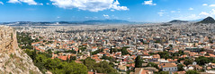 Akropolis panorama view (mpakarlsson) Tags: mount lycabettus viewing area akropolis monastiraki plaka greece view panorama lightroom sky clouds city athens buildings canon 24105 canon24105 5dmarkiii 5dmark3 5diii 5dm3 llens hill