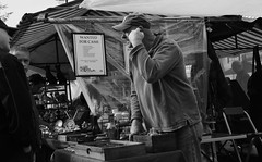 Wanted for Cash (Bury Gardener) Tags: bw blackandwhite monochrome mono nikond7200 nikon england eastanglia uk ely streetphotography street streetcandids snaps candid candids people peoplewatching folks 2018 market streetmarket