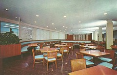 The League Cafeteria 1965 (Brett Streutker) Tags: restaurant cafe diner eatery food hamburger cheeseburger eat fast macdonalds burger vintage colonel sanders kentucky fried chicken big mac boy french fries pizza ice cream server tip money cash out dining cafeteria court table coffee tea serving steak shake malt pork fresh served desert pie cake spoon fork plate cup drive through car stand hot dog mustard ketchup mayo bun bread counter soda jerk owner dine carry deliver