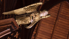 Proclaiming Angel (Gene Mordaunt) Tags: angel royalst georgescollege chapelofstalbanthemartyr lausdeo nikon810 toronto ontario church chapel architecture