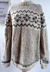 Icelandic wool lopi sweater (Mytwist) Tags: vtg itch vintage hand knitted wool nepal oversize slouchy chunky unisex jumper
