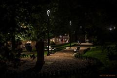 Park Brahe (MIKAEL82KARLSSON) Tags: gränna night natt nightshot nightphoto nattfoto småland jönköping polkagris sverige sweden vättern street park sony a7ll samyang 50mm mikael82karlsson