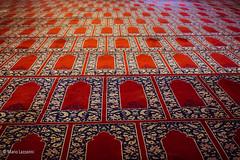 10082011-IMGP1065 (Mario Lazzarini.) Tags: tappeto rosso moschea camii edirne turchia turkey sinan preghiera historic arte old