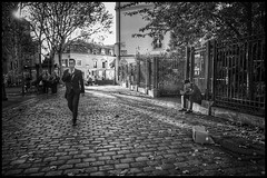 Place des Abbesses * Paris (sistereden2) Tags: leicaq