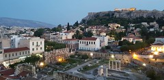 old&new (tatianakais) Tags: athens town city greece buildings ancient acropolis