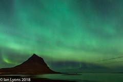 Aurora Borealis - Kirkjufell, Iceland (IanLyons) Tags: spectacular nightsky nature awesome concepts iceland snaefellsnesspeninsula kirkjufell auroraborealis sky places westernregion europe kirkjufellfoss northernlights