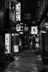 Night in Osaka (Hideki-I) Tags: osaka japan nikon d850 2470 blackandwhite bw 白黒