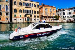 Carabinieri @ the Grand Canal (orgazmo) Tags: venice venezia italy italia laserenissima carabinieri boats olympus omd em1mk2 mzuiko12100mmf4ispro micro43s m43s