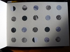 Circle Journal Page 1 (LaWendeltreppe) Tags: circles